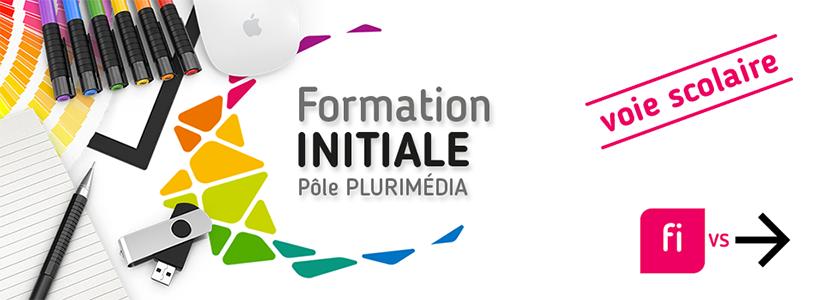 Formation plurimédia initiale par voie scolaire - Pôle Plurimédia - Lycée La Fayette - Clermont-Ferrand - Redirection