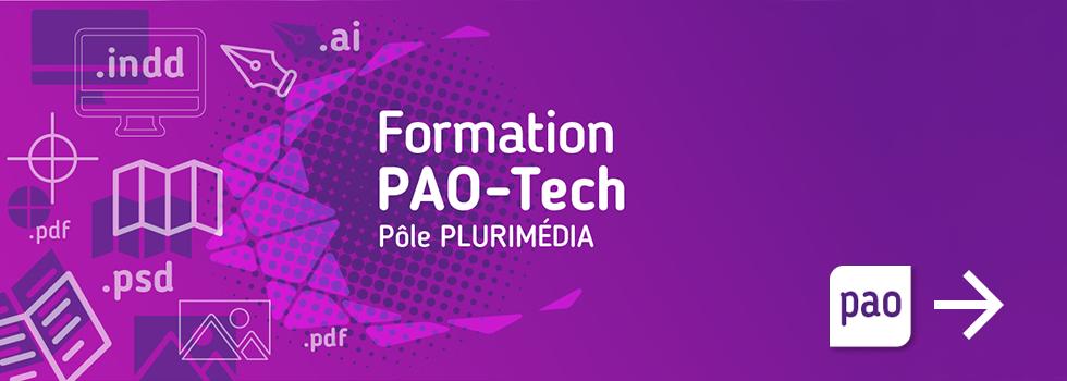 Formation PAO-Tech - Pôle Plurimédia - Lycée La Fayette - Clermont-Ferrand - Redirection