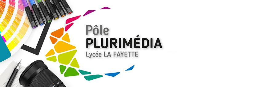 Montage photographique présentant le Pôle Plurimédia du Lycée La Fayette à Clermont-Ferrand
